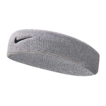 Nike Accessoires Swoosh Schweiss-Kopfband Grau