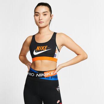 Nike Icon Clash Sport BH Damen Schwarz
