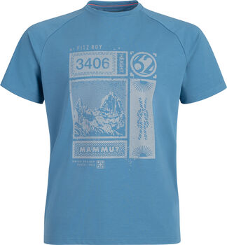 MAMMUT Mountain T-Shirt Herren Blau