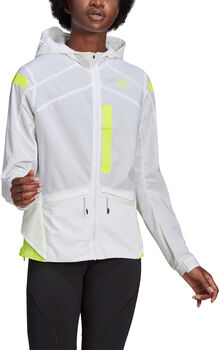 adidas Marathon veste de running Femmes Blanc