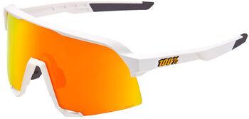 100% S3 soft tact Bikebrille Weiss