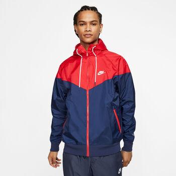 Nike Sportswear Heritage Windrunner Freizeitjacke Herren Blau