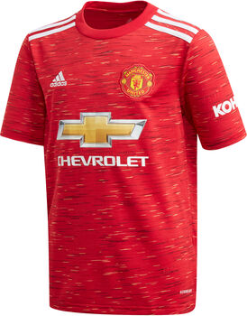 adidas Manchester United 20/21 Home maillot de football Garçons Rouge