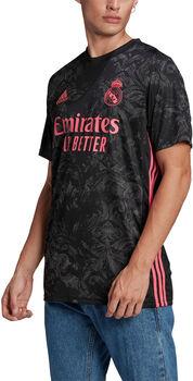 adidas Real Madrid 20/21 3R Fussballtrikot Herren Schwarz