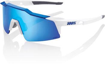 100% Speedcraft Short Bikebrille Weiss
