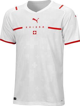 Puma SFV Schweiz Away Replica EM 2021-22 Fussballtrikot Herren Weiss