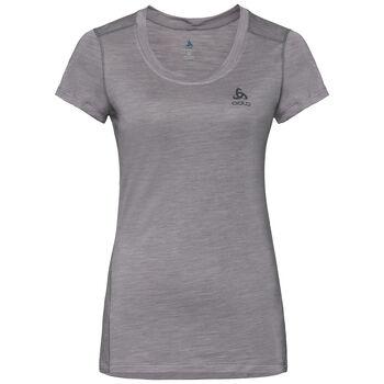 Odlo Natural + Light Baselayer T-Shirt Femmes Gris