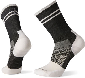 Smartwool PhD Ultra Light Crew Bikesocken Herren Schwarz
