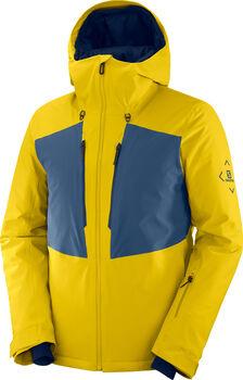 Salomon Highland veste de ski Hommes Jaune