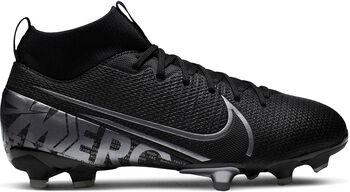 Nike JR SUPERFLY 7 ACADEMY FG/MG chaussure de football  Noir