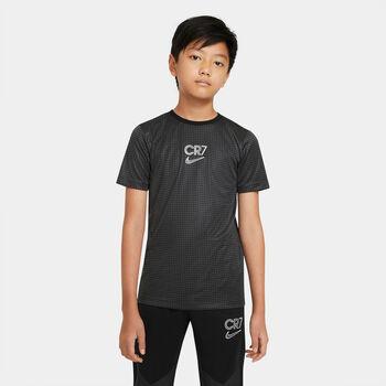 Nike Dir-FIT CR7 Big T-Shirt Schwarz