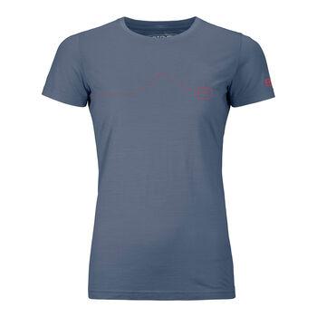ORTOVOX 120 Tec Moutain T-Shirt Damen Blau
