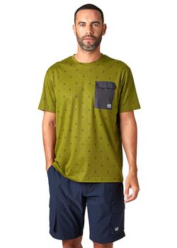 Helly Hansen Lomma T-Shirt Herren Grün