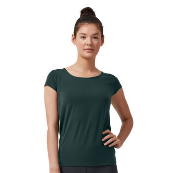 On Active Breathe Shirt running à manches courtes Femmes Vert