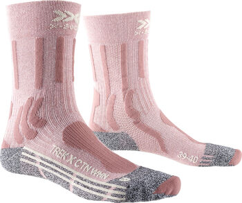 X-Socks TREK X COTTON Wandersocken Damen Pink