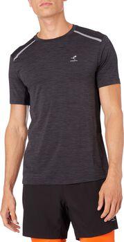 ENERGETICS Aino II Shirt de running à manches courtes Hommes Noir