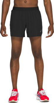 ASICS ROAD 5IN Short running Hommes Noir