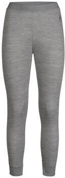 Odlo NATURAL 100% MERINO WARM sous-pantalon fonctionnel long  Femmes Gris