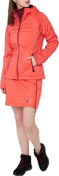 McKINLEY Teide Hooded Isolationsjacke Damen Rot