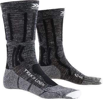 X-Socks TREK X LINEN Wandersocken Herren Grau
