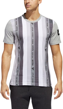 adidas Must Haves GFX 1 T-Shirt Hommes Gris
