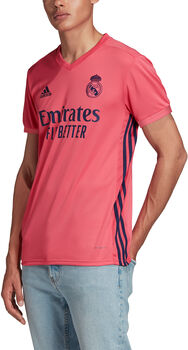adidas Real Madrid 20/21 Away Fussballtrikot Herren Rot