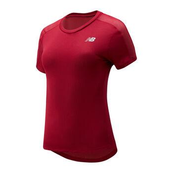 New Balance Impact Run t-shirt de running Femmes Rouge