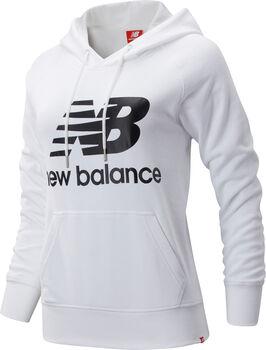 New Balance Essentials Pullover Hoody Damen Weiss