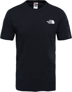 The North Face Red Box T-Shirt Herren Schwarz