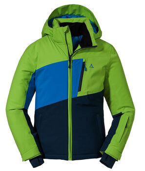 SCHÖFFEL Wannenkopf Skijacke Jungs Grün
