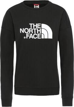 The North Face DREW PEAK CREW-EU Pullover Damen Schwarz