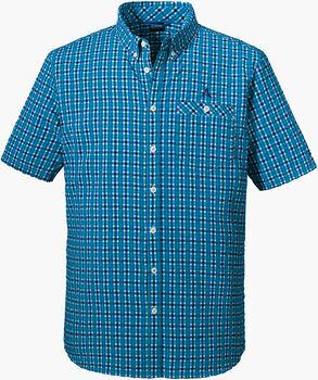 SCHÖFFEL Kuopio3 chemise de randonnée à manches courtes  Hommes Bleu