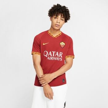 Nike AS Roma 19/20 Stadium Home Fussballtrikot Herren Rot