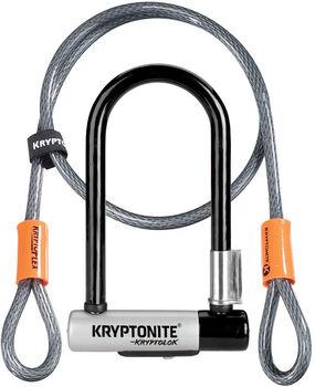 Kryptonite Bügelschloss KryptoLok Mini-7 Schwarz