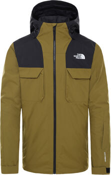 The North Face Fourbarrel Triclimate Skijacke Herren Grün