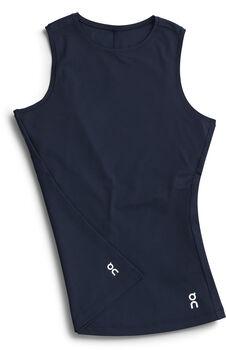 On-T Shirt de running Femmes Bleu