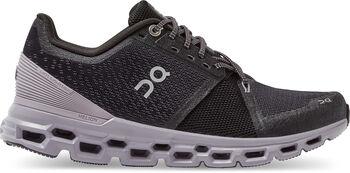 On Cloudstratus chaussures running Femmes Noir