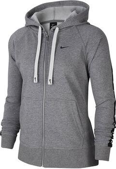 Nike Dri-FIT Fleece Hoody Damen Grau