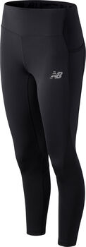 New Balance Impact Run Crop Tights Damen Schwarz