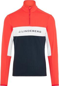 J.Lindeberg Kimball Striped Veste Hommes Rouge