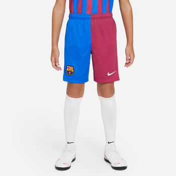 Nike FC Barcelona Fussballshorts Blau