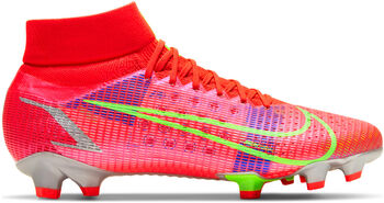 Nike Mercurial SUPERFLY 8 PRO FG chaussure de football Rouge