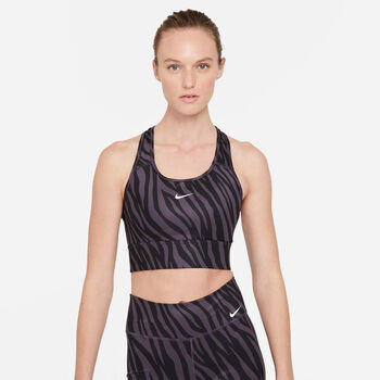 Nike Swoosh Icon Clash brassière de sport Femmes Rose