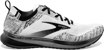 Brooks Levitate 4 chaussure de running Hommes Blanc