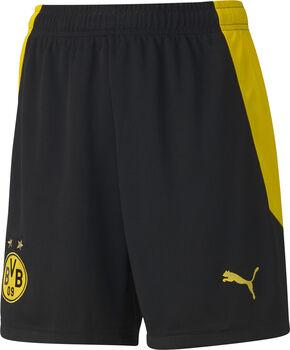 Puma BVB Replica Fussballshorts Schwarz