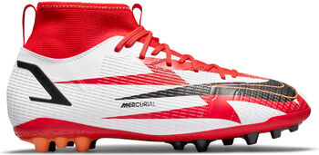 Nike JR Mercurial SUPERFLY 8 ACADEMY AG Fussballschuh Pink