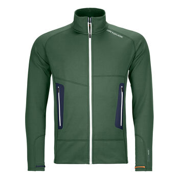 ORTOVOX FLEECE LIGHT Fleecejacke Herren Grün