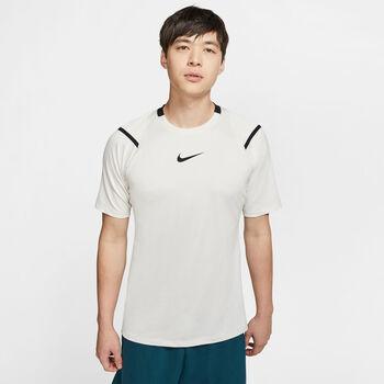 Nike PRO Aero-Adapt T-Shirt Herren Weiss