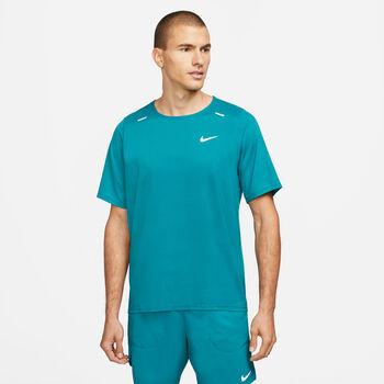 Nike Breathe Rise 365 Hybrid haut de running Hommes Bleu