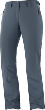 Salomon THE BRILLIANT pantalon de ski Femmes Gris